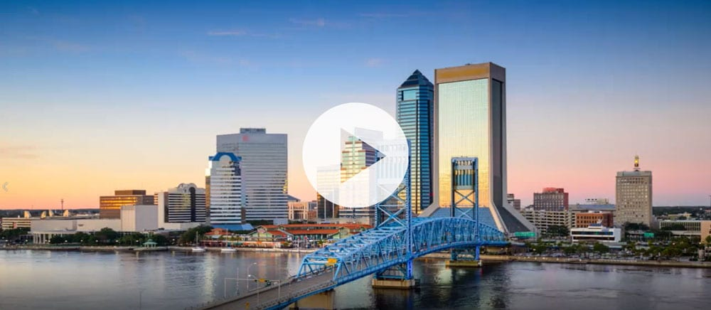 %Jacksonville %Commercial Real Estate